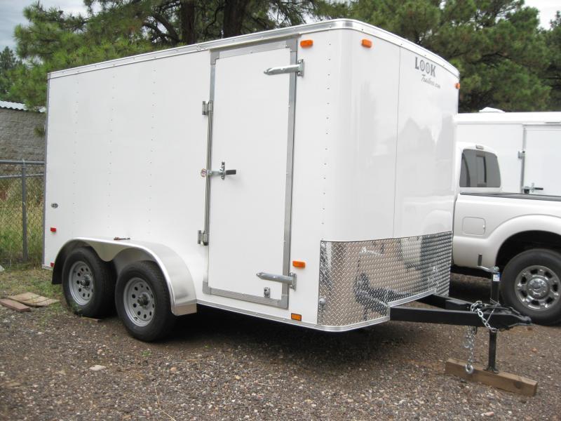 7x12 TA ST Cargo / Enclosed Trailer Tandem Axle
