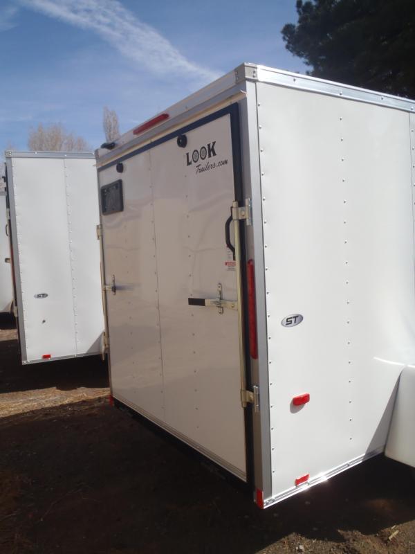 6x12 ST Cargo  rear ramp door