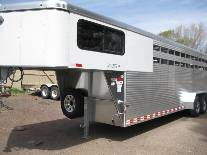 24' Gooseneck Rancher Stock Trailer