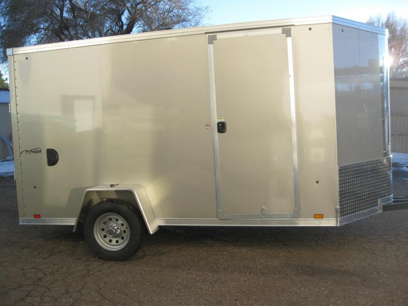 6X12 Vision Enclosed Cargo Trailer