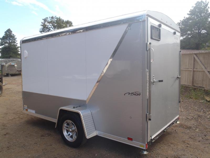 6X12 Vision Enclosed Cargo Trailer