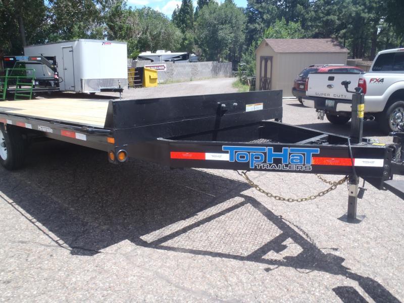 102 X 20 Deck OverEquipment Hauler with ramps