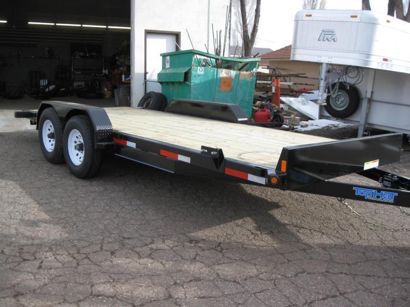 82X18 Carhauler 10000# GVW Equipment Hauler