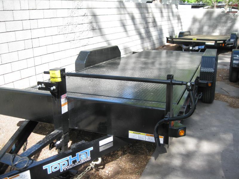 83X20 Tilt Deck Steel Deck Equipment Trailer