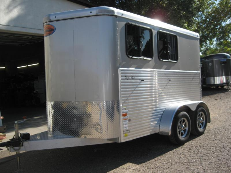 2015 Sundowner Trailers 2 Horse Super Sport BP Horse Trailer