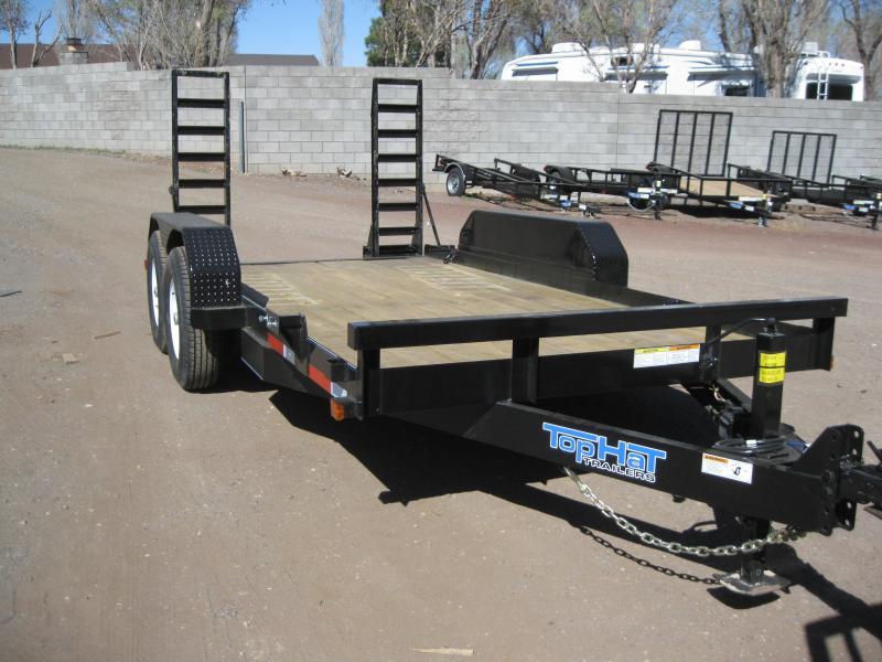 81X14 Skid Steer 14K Equipment Trailer
