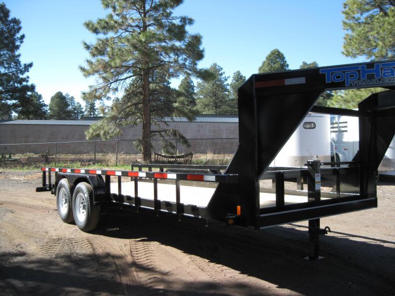 Gooseneck 83X20 Heavy Hauler 14K Equipment Trailer