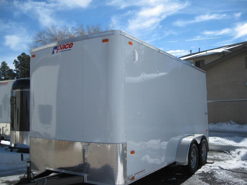 7X16 Cargo Enclosed Cargo Outback Model
