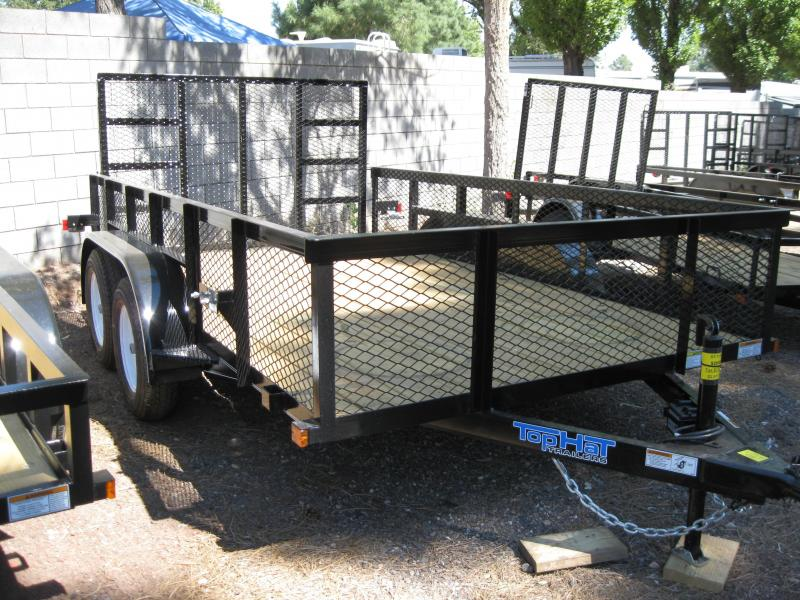 83X14 Utility Trailer Landscaper LED Lights