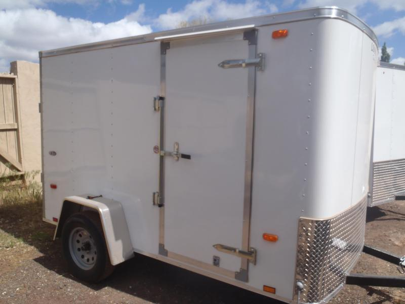 6x12 Outback Enclosed Trailer Barn Doors