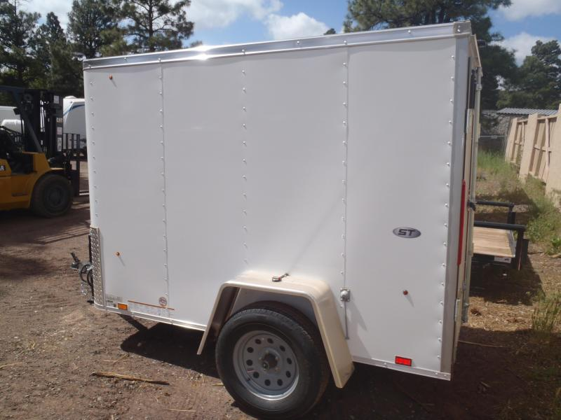 5x8 ST Enclosed Trailer Barn Doors
