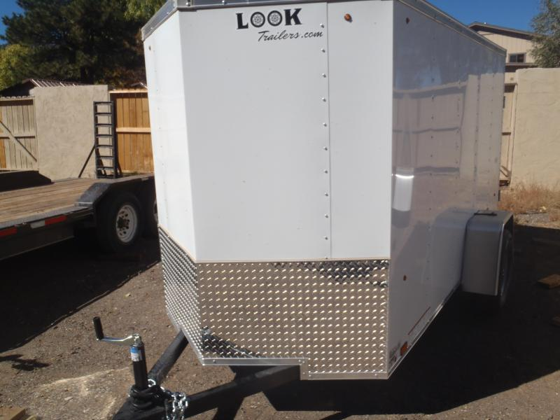5x10 ST Enclosed Trailer Side Door and Barn Doors