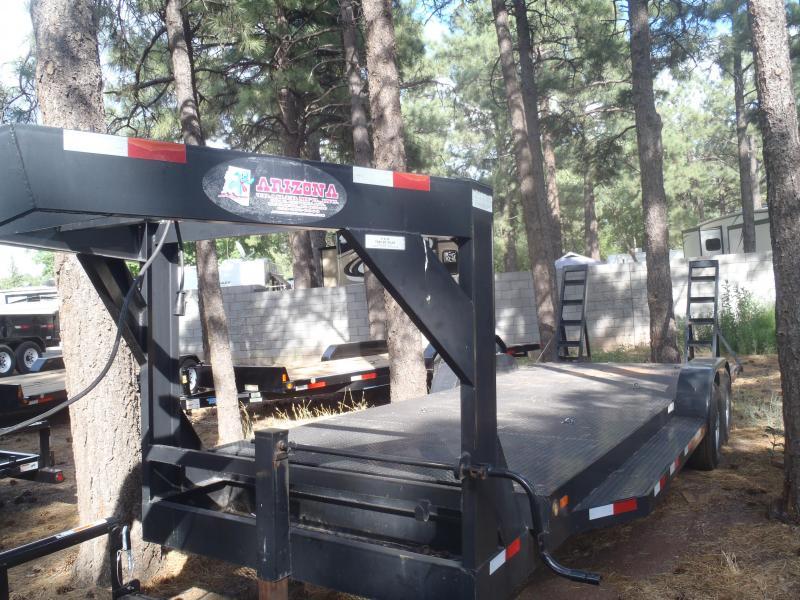 Gooseneck 83X22 12K Equipment Trailer