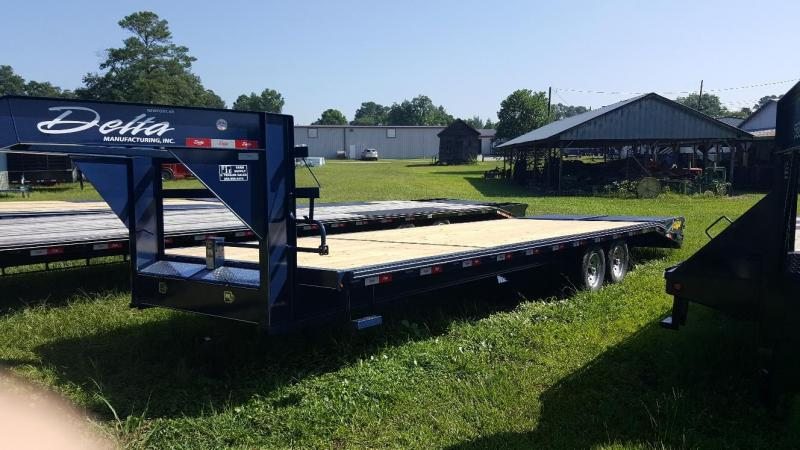 2019 Delta Manufacturing 27GN Equipment Trailer