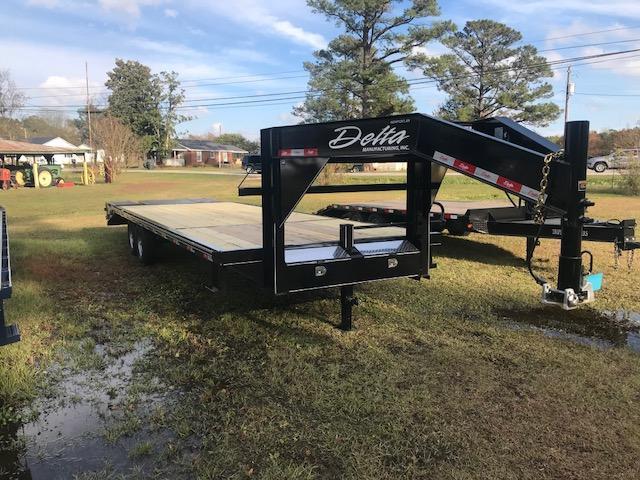 2019 Delta Manufacturing 27GN Equipment Trailer
