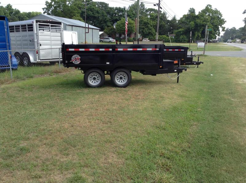 2018 Homesteader Inc. 6x10 Dump Trailer