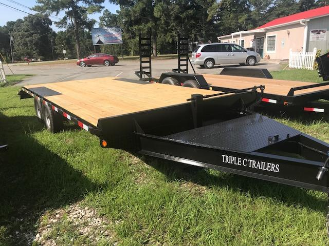 2018  20ft 10k Deck over Equipment Trailer Bumper Pull