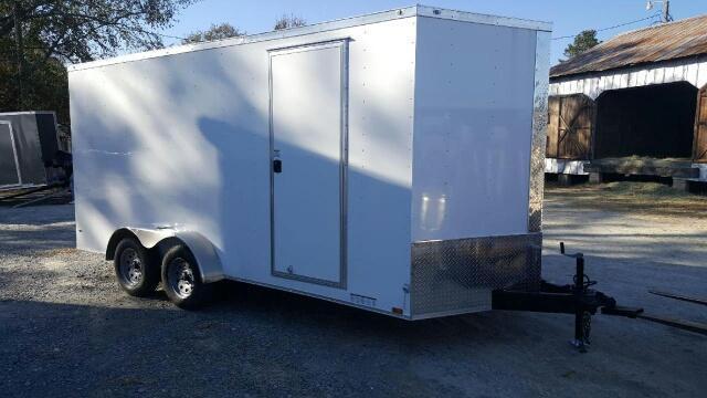 2019 Diamond Cargo 7X16 Extra Tall Enclosed Cargo Trailer