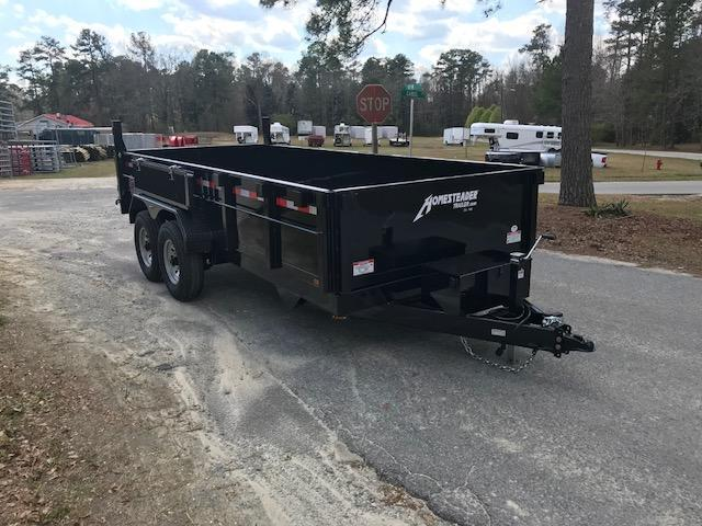 2019 Homesteader 7x16 Dump Trailer