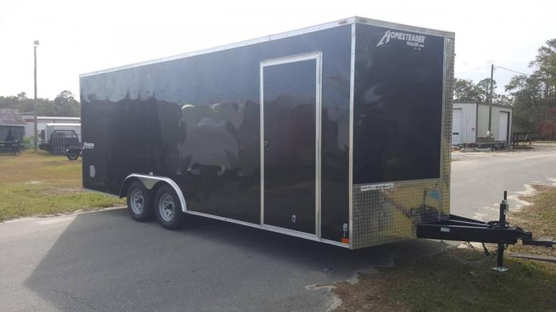 2019 Homesteader Intrepid 8x20 Enclosed Cargo Trailer