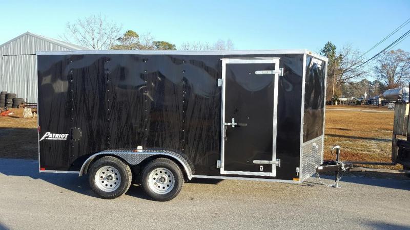 2017 Homesteader Tandem 7x14 Patriot Cargo Trailer