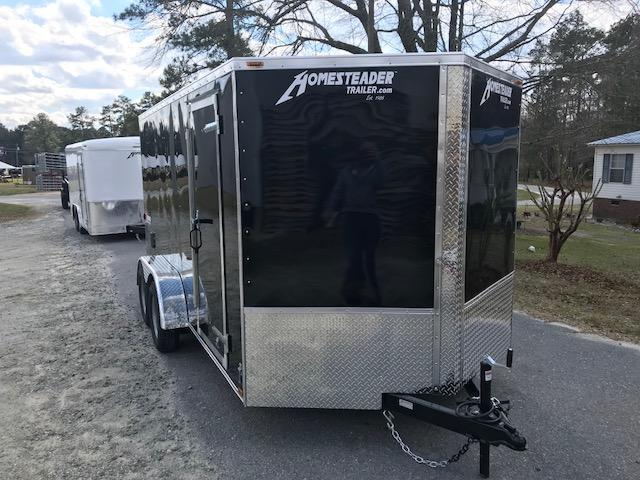 2018 Homesteader Tandem 7x14 Patriot Cargo Trailer