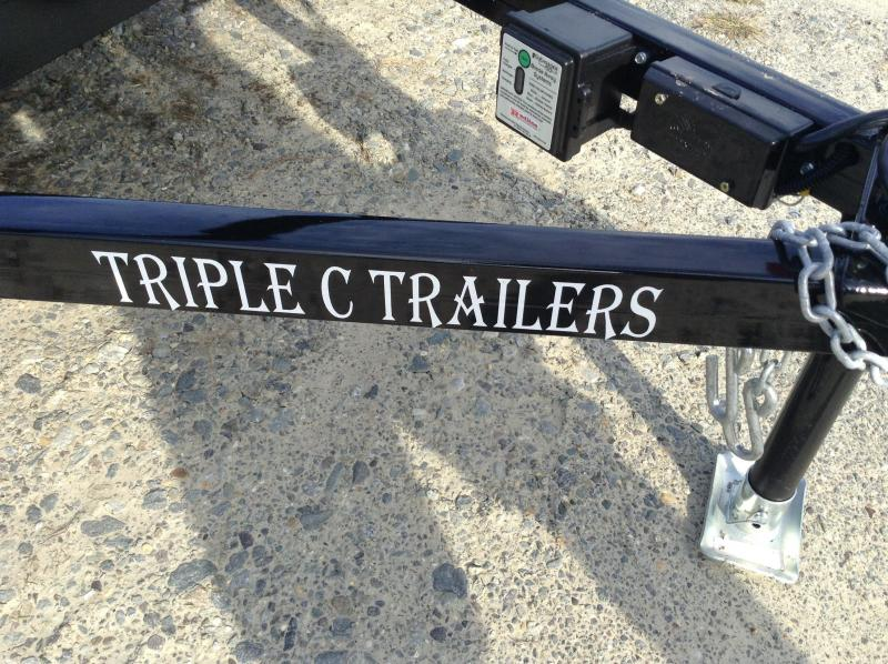 "2018 Triple C 6'4""x12' Utility Trailer"