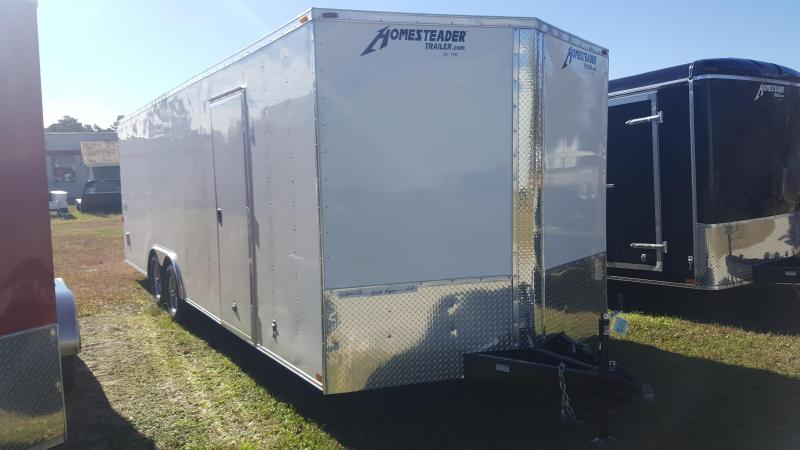 2019 Homesteader Intrepid 8X24 Enclosed Cargo Trailer