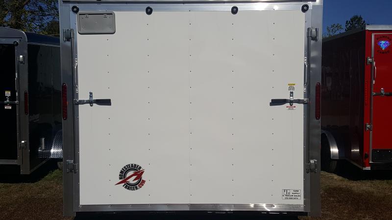 2019 Homesteader Intrepid 8X24 Enclosed Cargo Trailer