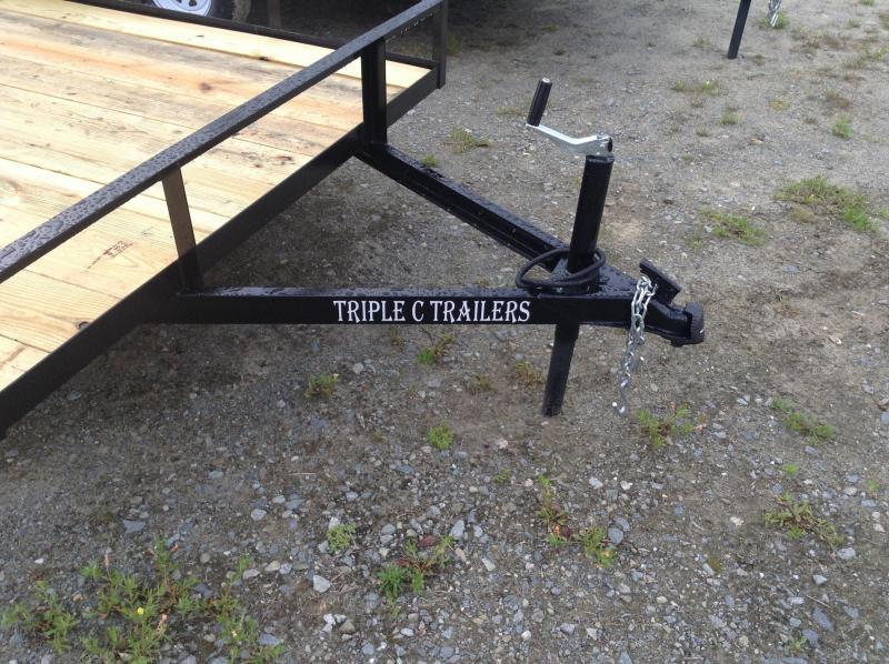 "2019 Triple C 6'4""x10' Utility Trailer"