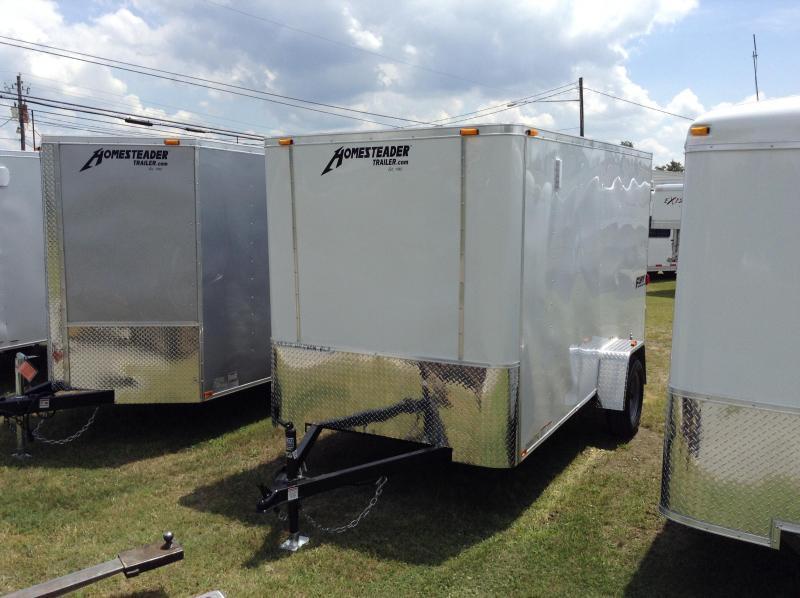 2017 Homesteader 6'x12' Fury Cargo Trailer with Barn Doors