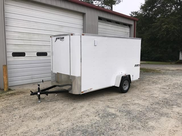 2018 Homesteader 6\u0027x12\u0027 Fury Cargo Trailer with Barn Doors & 2018 Homesteader 6\u0027x12\u0027 Fury Cargo Trailer with Barn Doors | We ...