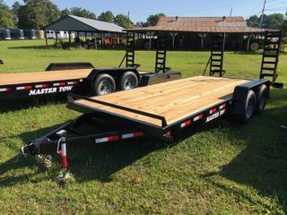 "2019 Master Tow 82""x18' 10k Equipment Trailer"