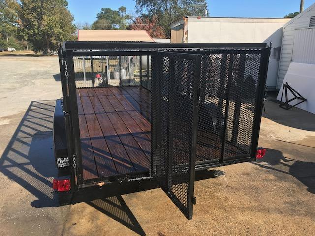 Used 2016 Triple C 16ft with 4ft mesh Utility Trailer