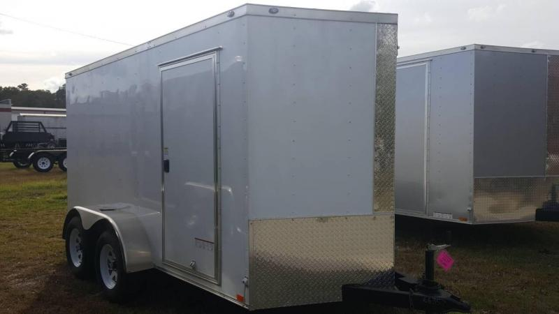 2019 Diamond Cargo 6x12 Tandem Enclosed Cargo Trailer