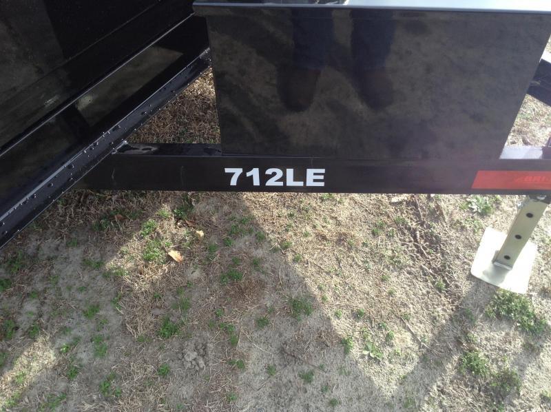 2016 Bri-Mar 7'x12' 10k Dump Trailer