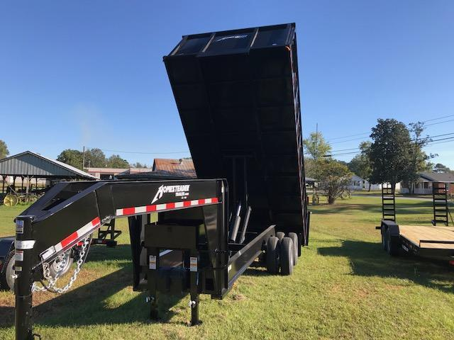 2018 Homesteader 8x18 GN Dump Trailer