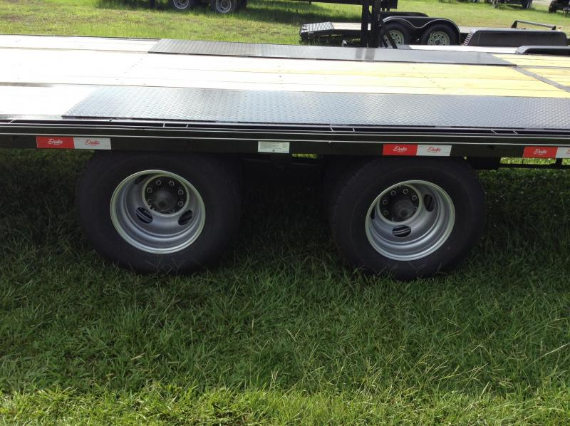 2016 Delta Manufacturing 210GN 40' Tandem Dually Equipment Trailer