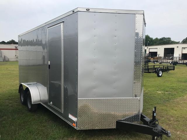 2018 Diamond Cargo Diamond 7x16 7 Tall Enclosed Cargo Trailer