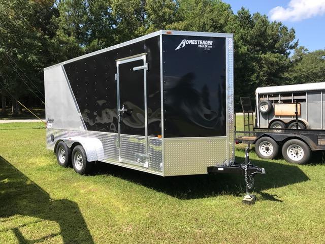2017 Homesteader 7x16 Patriot  Cargo Trailer UTV Ready