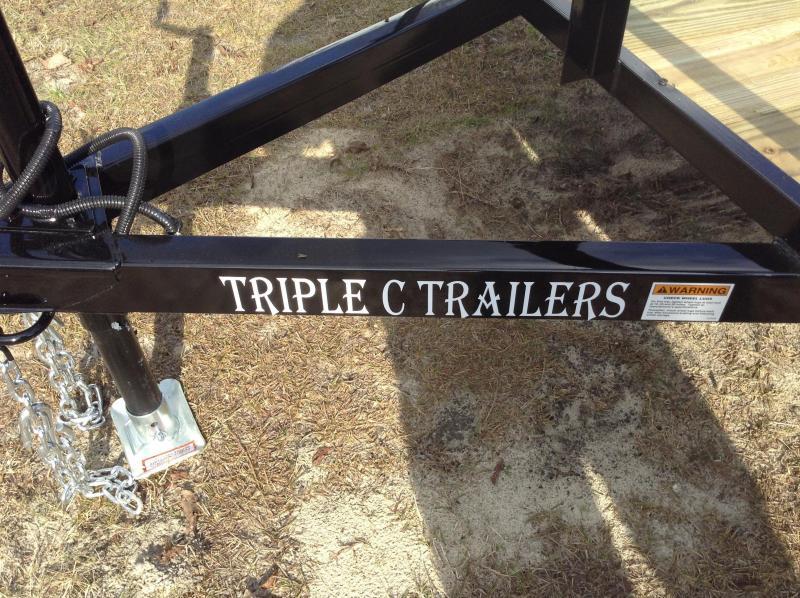 2017 Triple C 5'x10' Utility Trailer