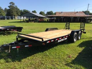 2018 Master Tow 20 ft 14K Equipment Trailer