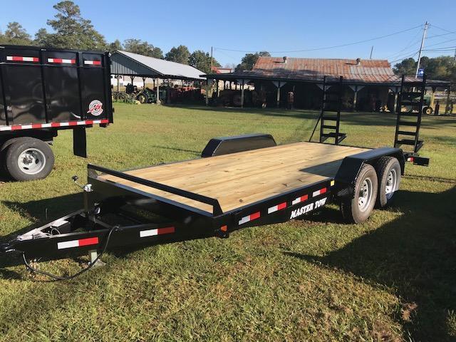 2018 Master Tow 18 ft 14K Equipment Trailer