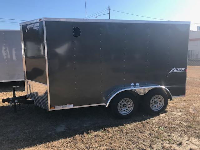 2018 Homesteader Patriot 6x12 Tandem Cargo Trailer