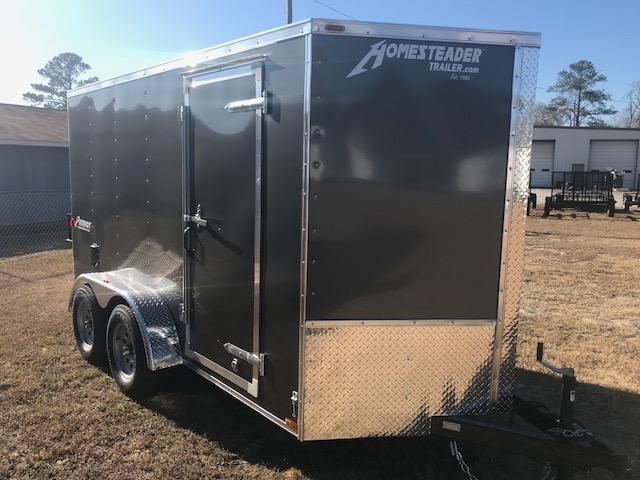 2018 Homesteader Patriot 6x12 Tandem Cargo Trailer