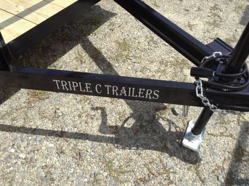 "2017 Triple C 6'-4""x16' Utility Trailer"