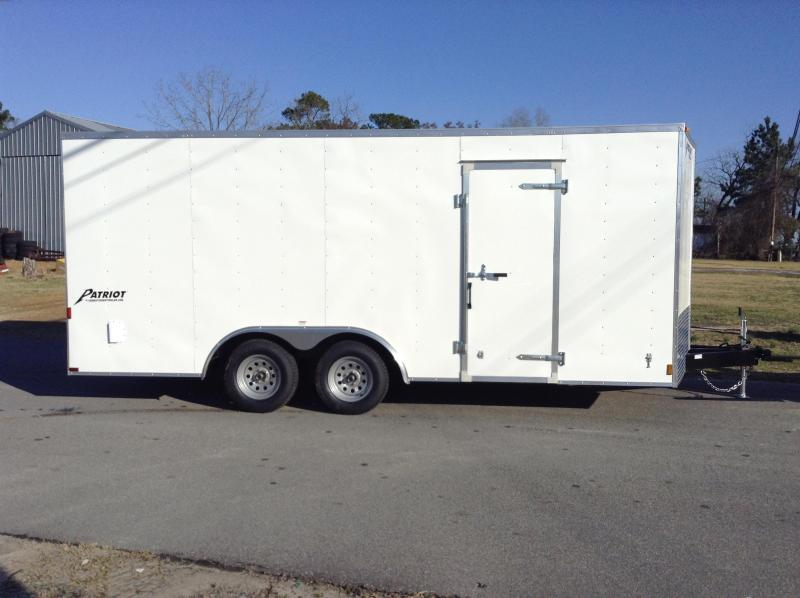 2016 Homesteader 8.5x18 Patriot Cargo Trailer