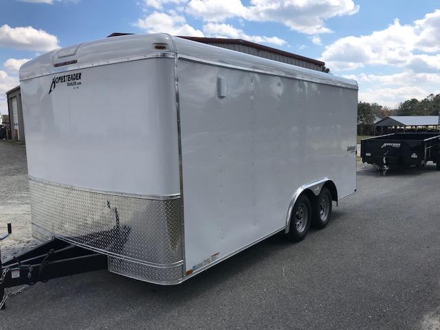 2018 Homesteader 8.5x16 Challenger Cargo Trailer
