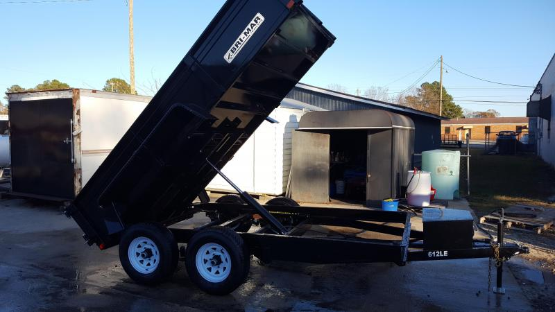 inventory we have something for everyone 2017 bri mar 6 x12 dump trailer