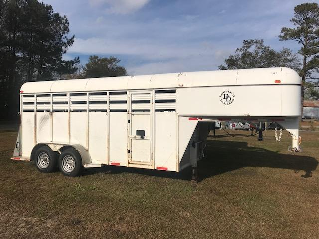 2005 Double D 16ft Stock Trailer